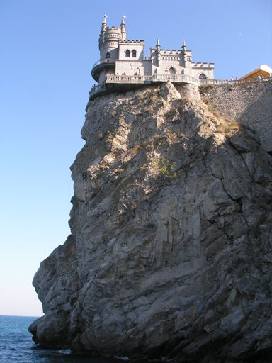 The Swallow's Nest near Yalta in Crimea. © DDima