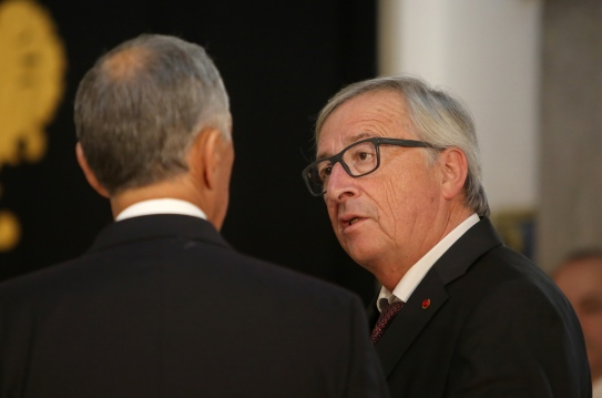 President of the European Commission Jean-Claude Juncker (right). ©Horacio Villalobos-Corbis/Getty Images