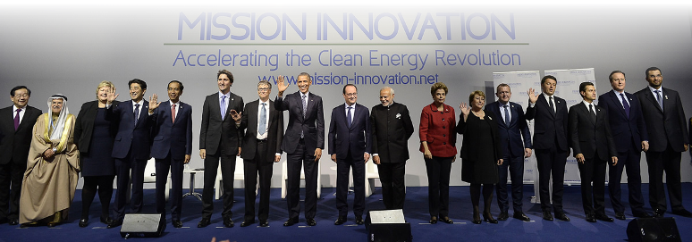 World leaders launch Mission Innovation at COP21 in Paris. © Gobierno de Chile (CC BY 2.0)